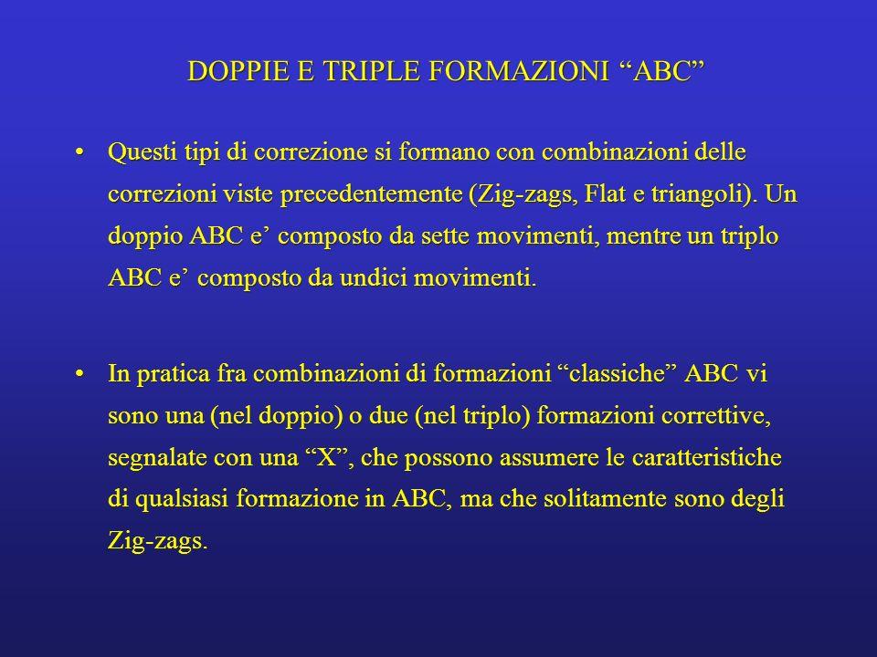 DOPPIE E TRIPLE FORMAZIONI ABC