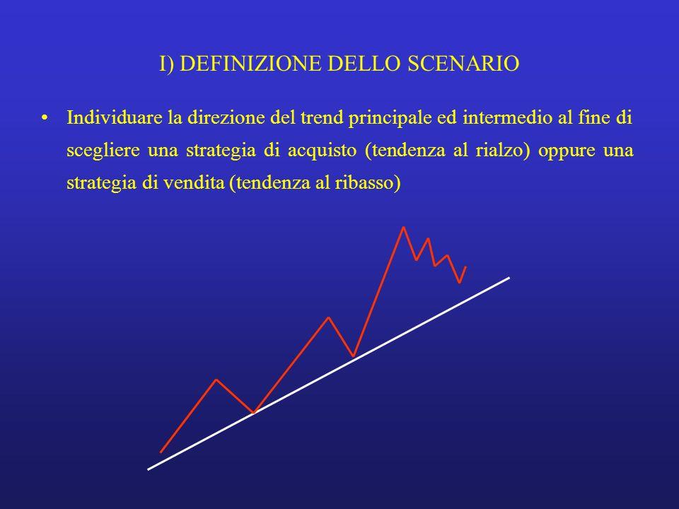 I) DEFINIZIONE DELLO SCENARIO