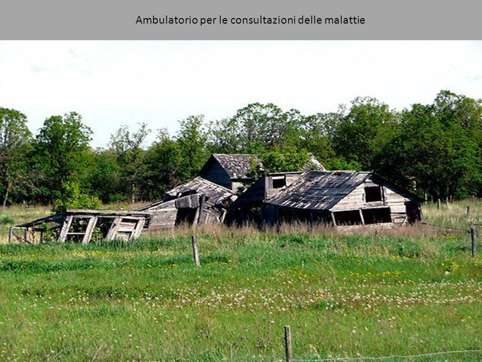 Ambulatorio per le consultazioni delle malattie