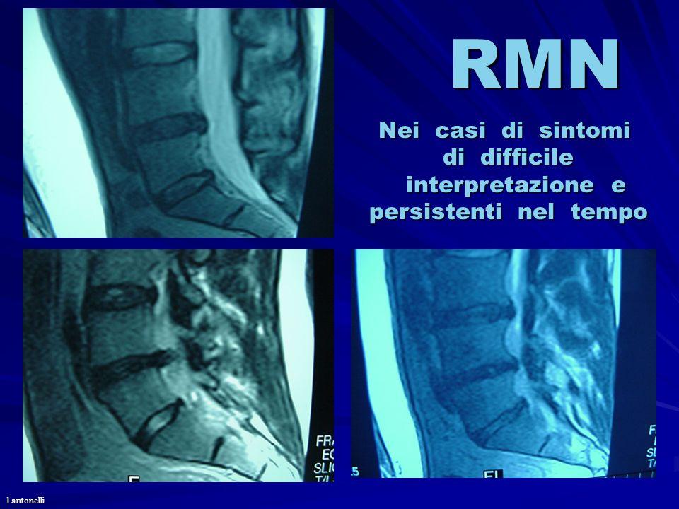 RMN Nei casi di sintomi di difficile interpretazione e