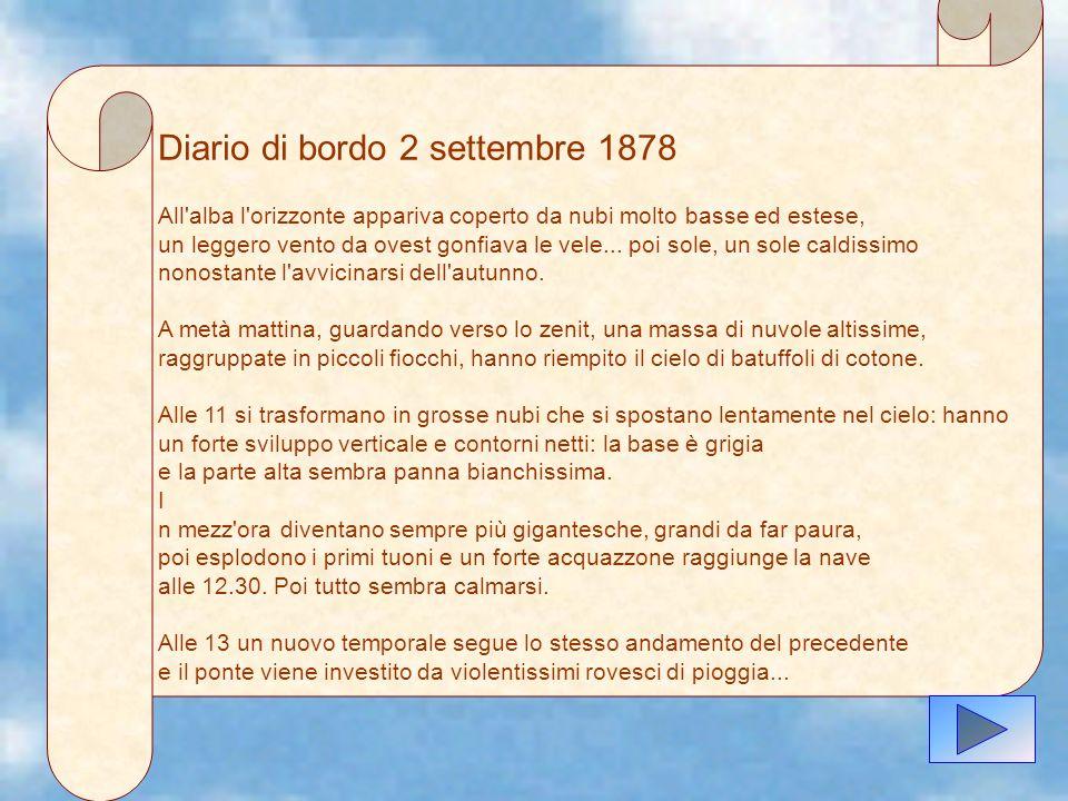 Diario di bordo 2 settembre 1878