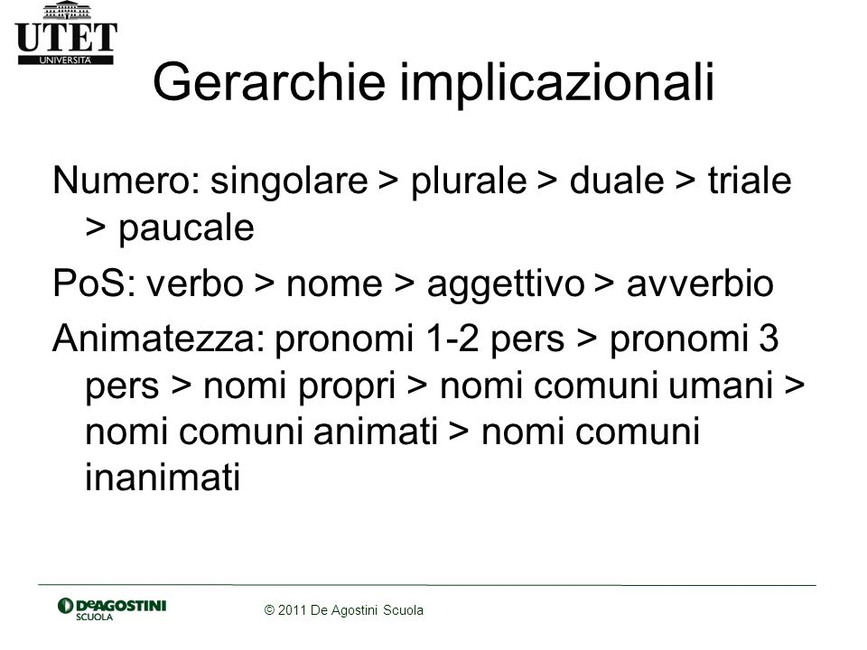 Gerarchie implicazionali