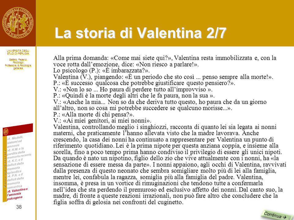La storia di Valentina 2/7