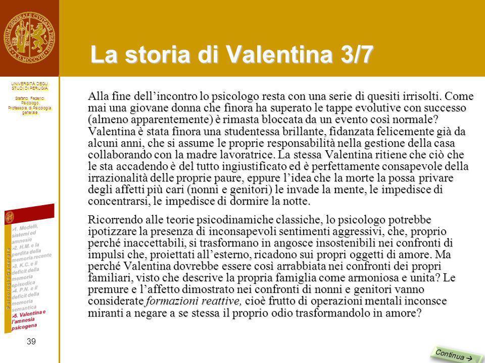 La storia di Valentina 3/7
