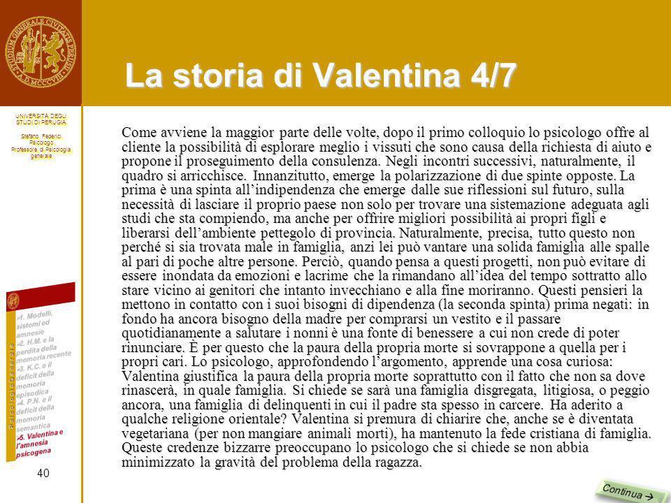La storia di Valentina 4/7