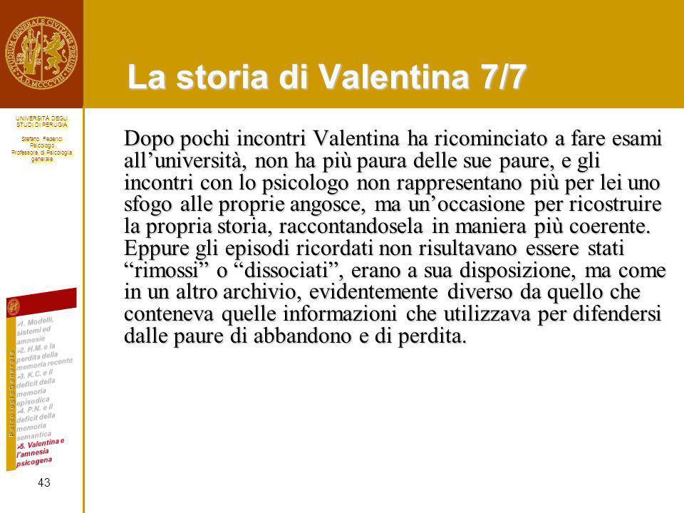 La storia di Valentina 7/7