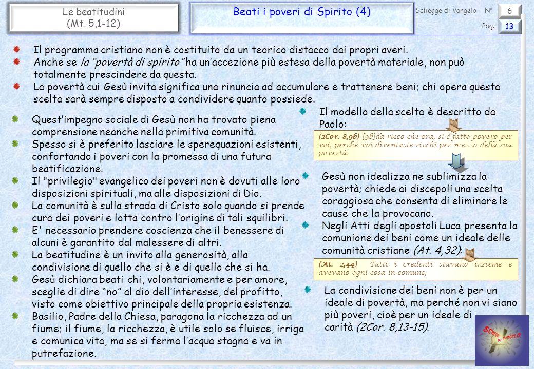 Beati i poveri di Spirito (4)