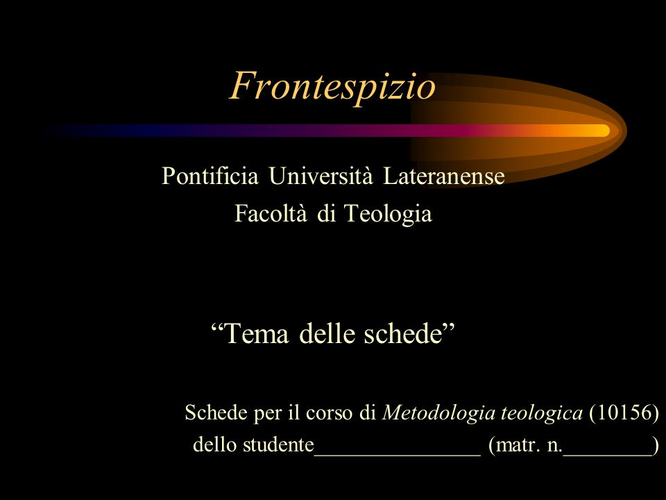 Pontificia Università Lateranense