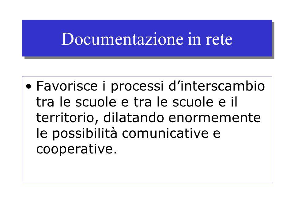 Documentazione in rete