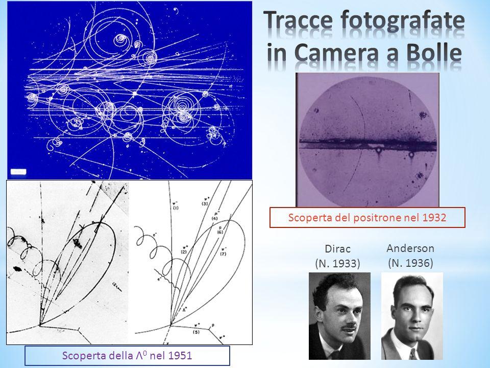 Tracce fotografate in Camera a Bolle