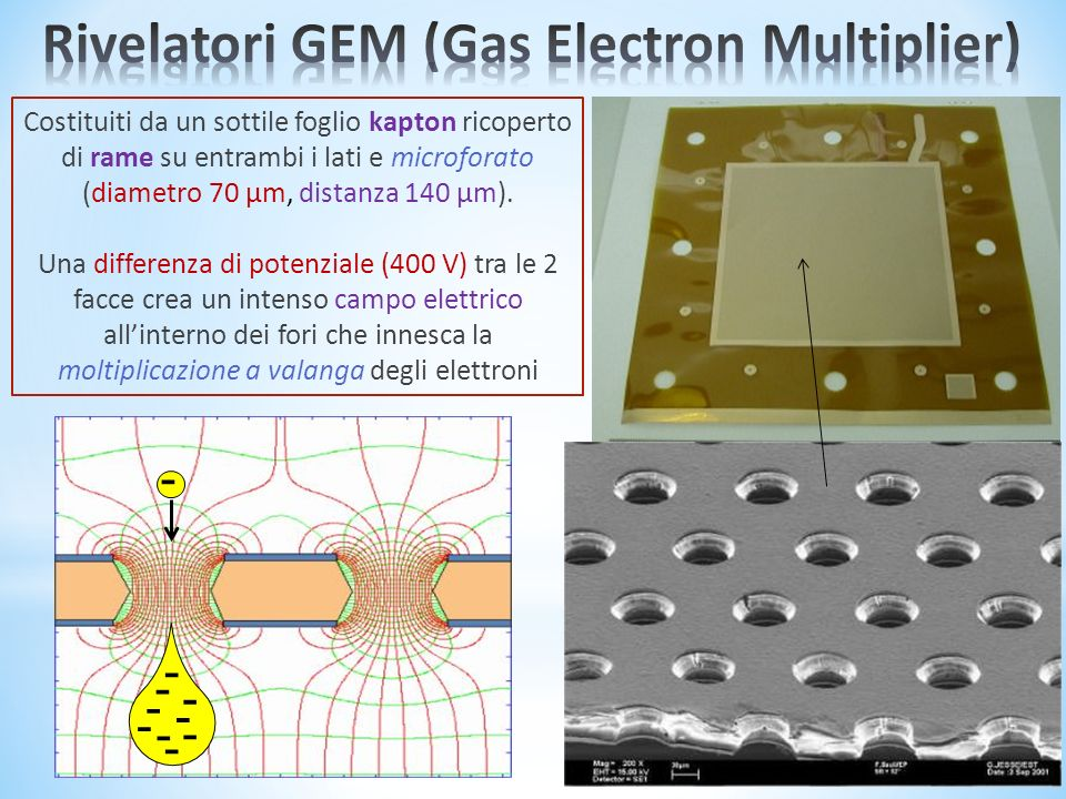 Rivelatori GEM (Gas Electron Multiplier)