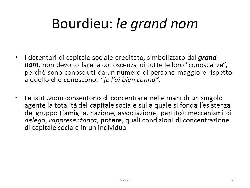 Bourdieu: le grand nom