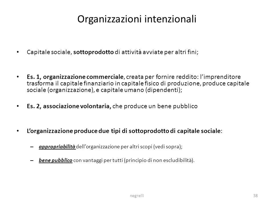 Organizzazioni intenzionali