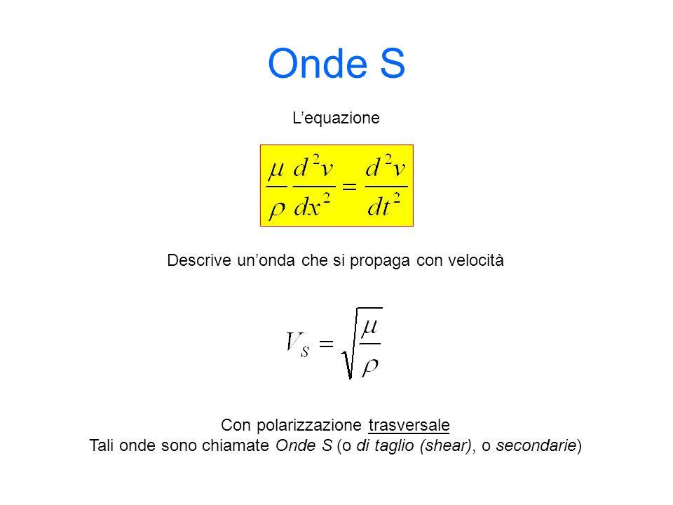 Onde S L'equazione Descrive un'onda che si propaga con velocità