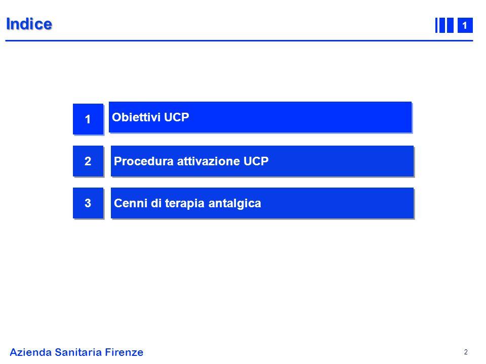 Indice 1 Obiettivi UCP 2 Procedura attivazione UCP 3