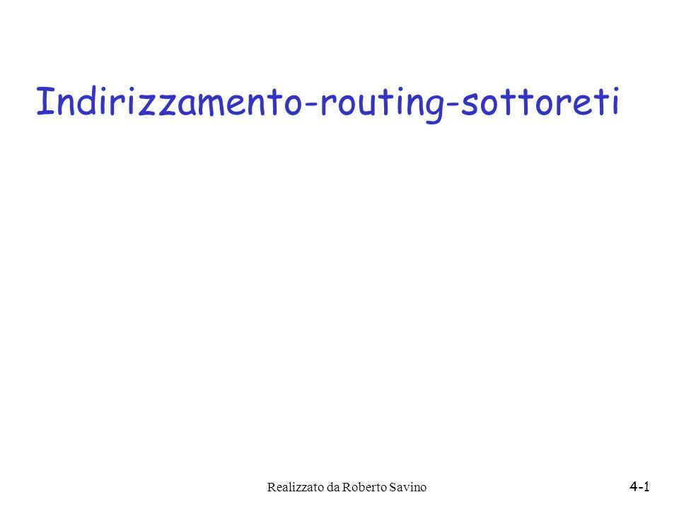 Indirizzamento-routing-sottoreti