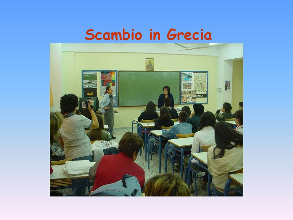 Scambio in Grecia
