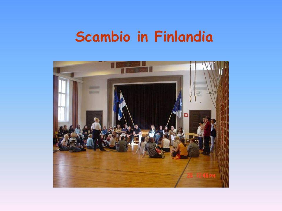 Scambio in Finlandia