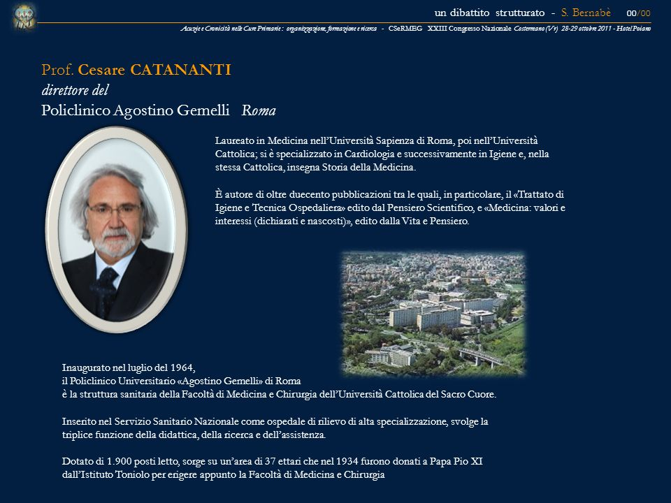 Policlinico Agostino Gemelli Roma