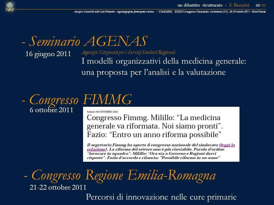 - Congresso Regione Emilia-Romagna