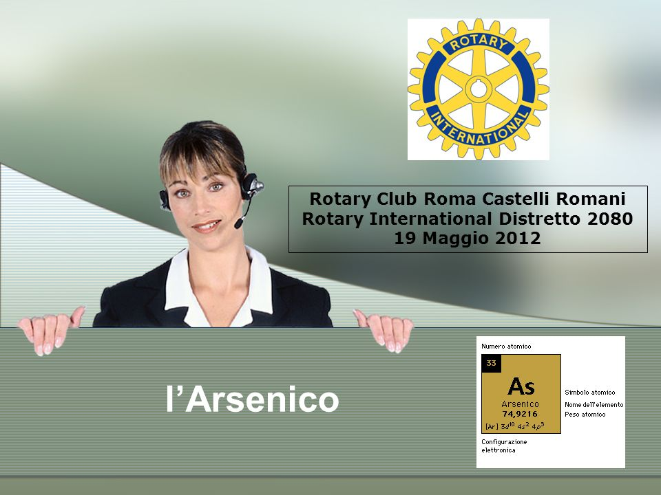 Rotary Club Roma Castelli Romani Rotary International Distretto 2080 19 Maggio 2012