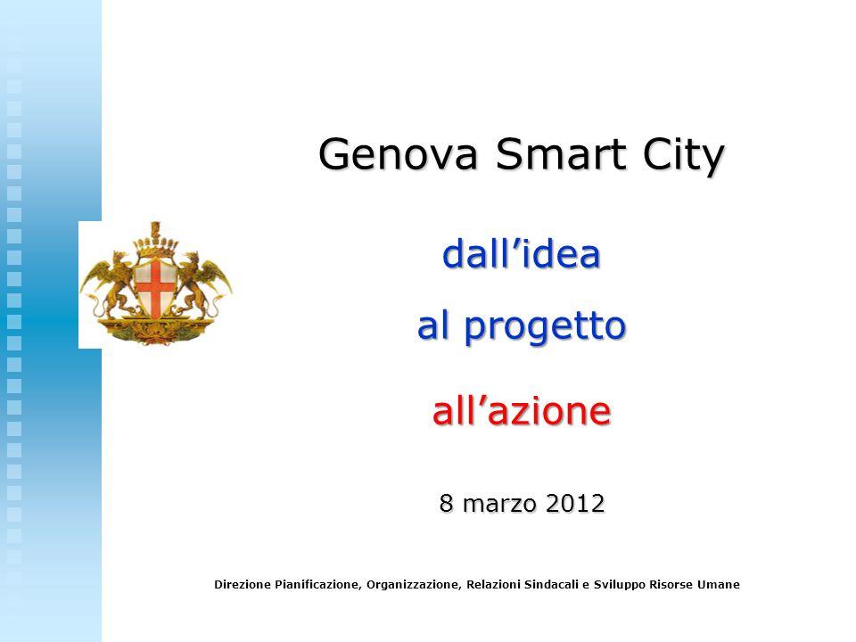 Genova Smart City dall'idea al progetto all'azione 8 marzo 2012
