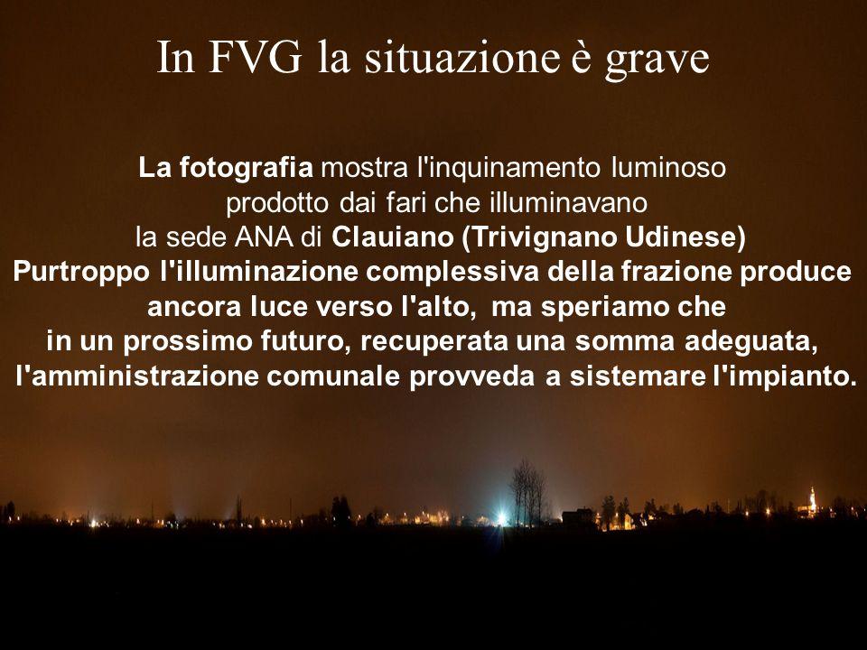 In FVG la situazione è grave