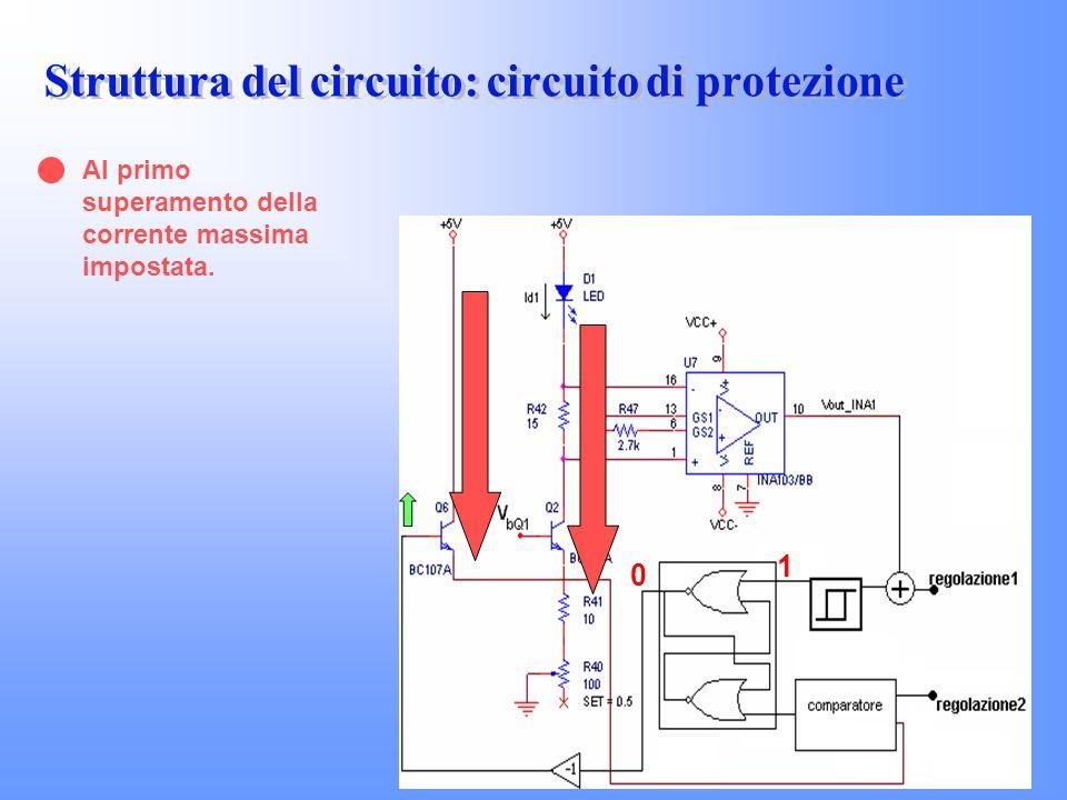 Struttura del circuito: circuito di protezione