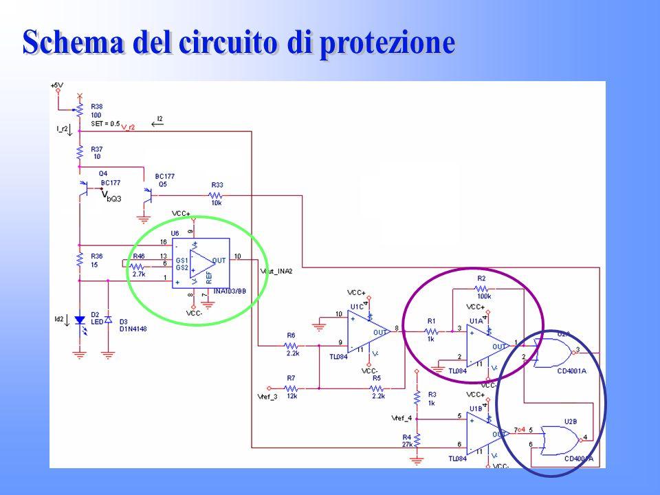 Schema del circuito di protezione