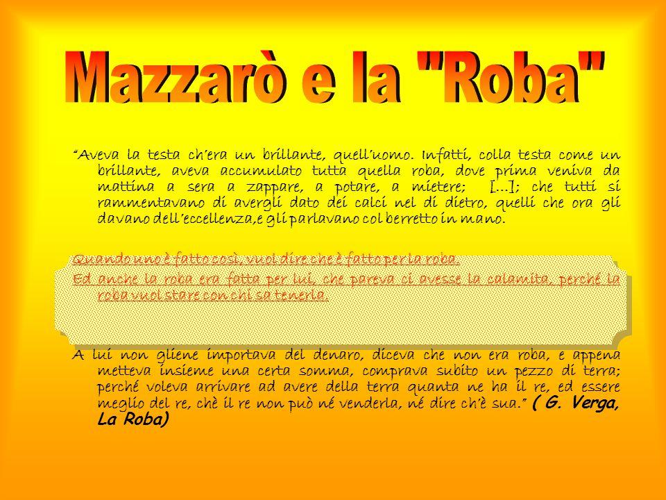 Mazzarò e la Roba