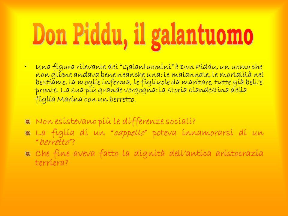 Don Piddu, il galantuomo