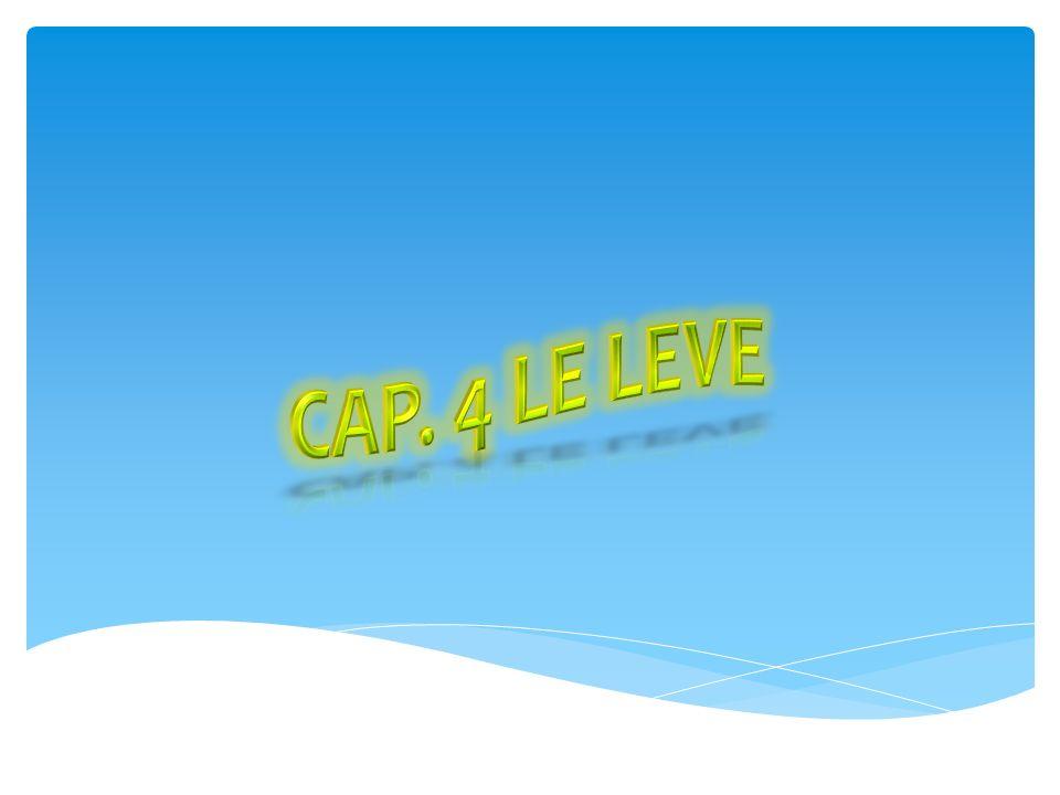 Cap. 4 Le Leve