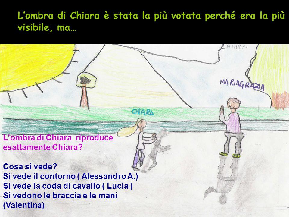 L'ombra di Chiara è stata la più votata perché era la più visibile, ma…