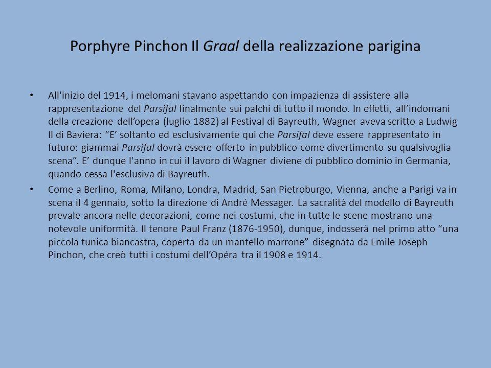 Porphyre Pinchon Il Graal della realizzazione parigina