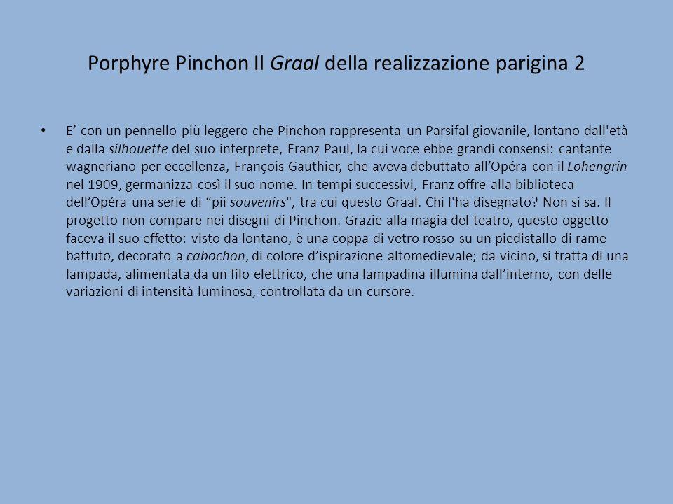 Porphyre Pinchon Il Graal della realizzazione parigina 2