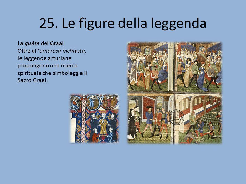 25. Le figure della leggenda