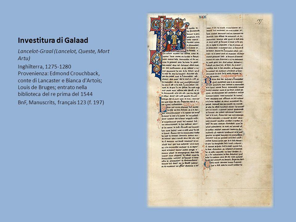 Investitura di Galaad Lancelot-Graal (Lancelot, Queste, Mort Artu)