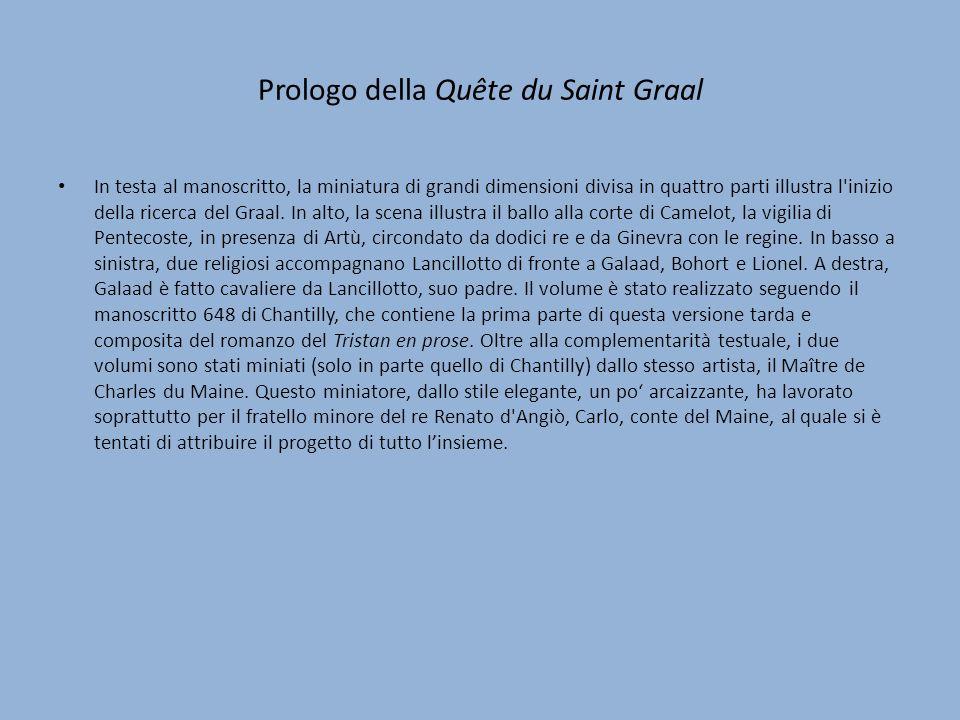 Prologo della Quête du Saint Graal