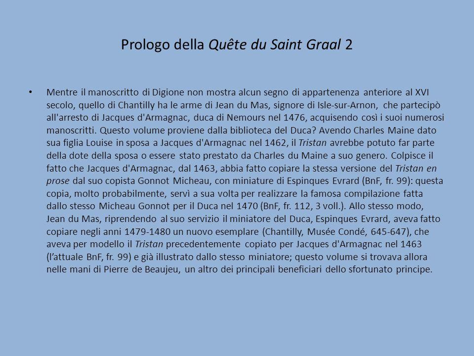 Prologo della Quête du Saint Graal 2