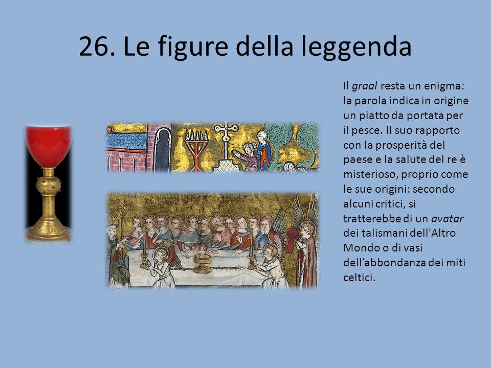 26. Le figure della leggenda
