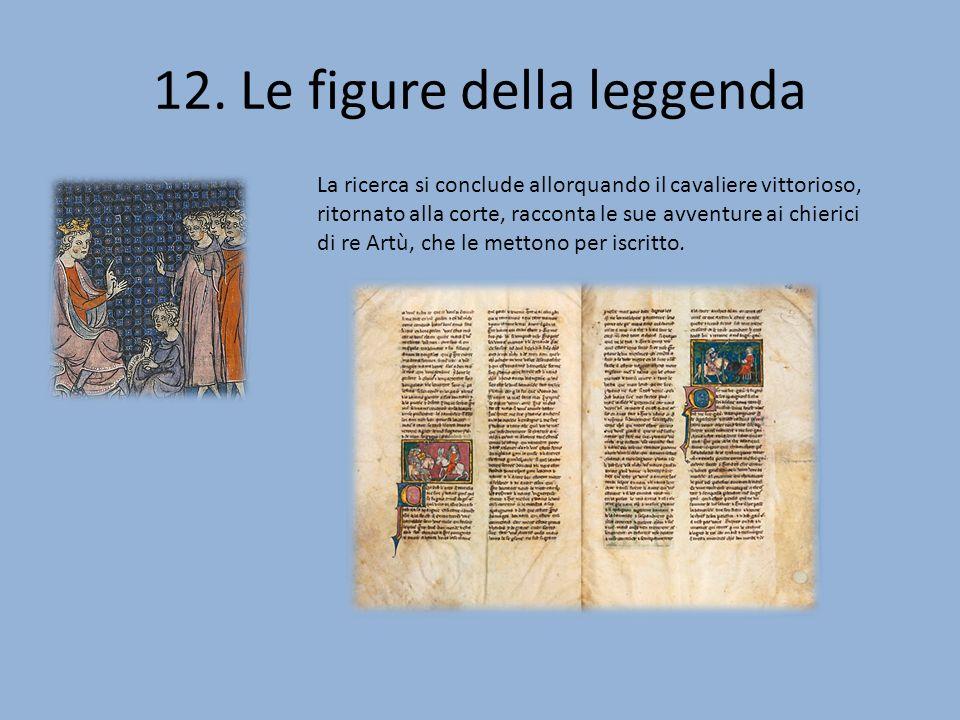 12. Le figure della leggenda
