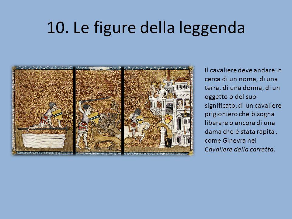 10. Le figure della leggenda