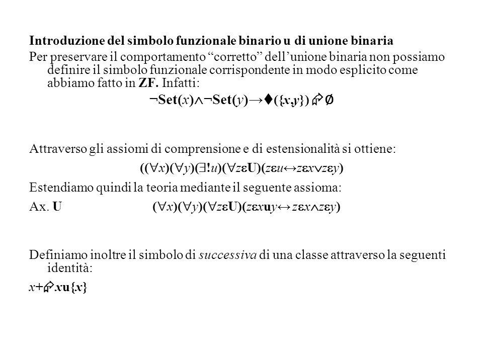 ¬Set(x)¬Set(y)→({x,y}) ∅