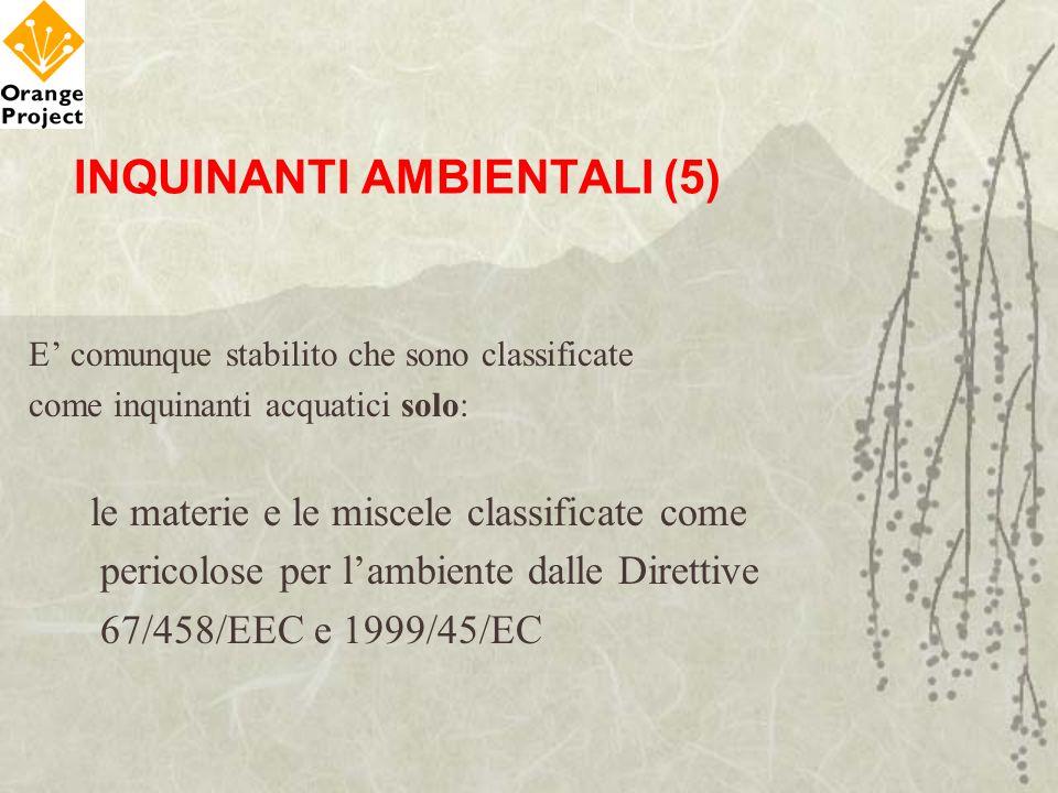 INQUINANTI AMBIENTALI (5)