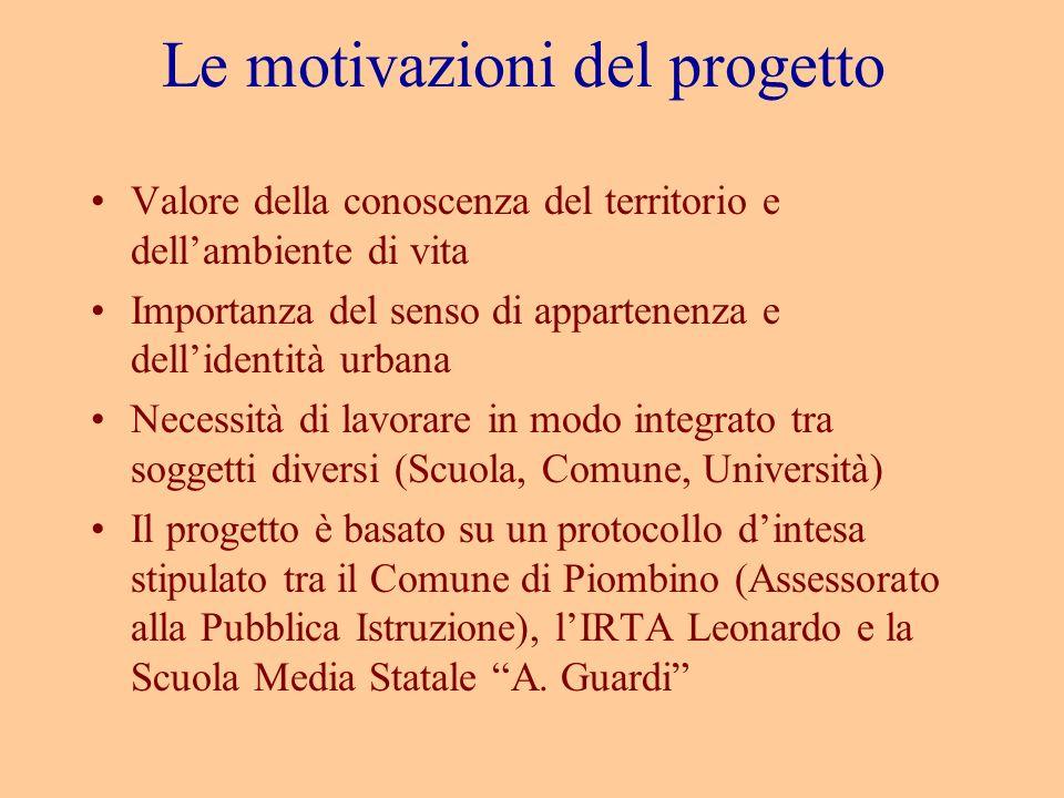 Le motivazioni del progetto
