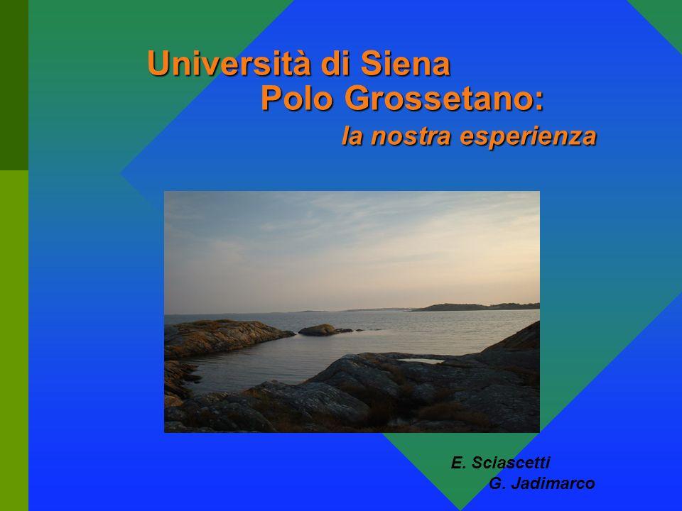 Università di Siena Polo Grossetano: la nostra esperienza