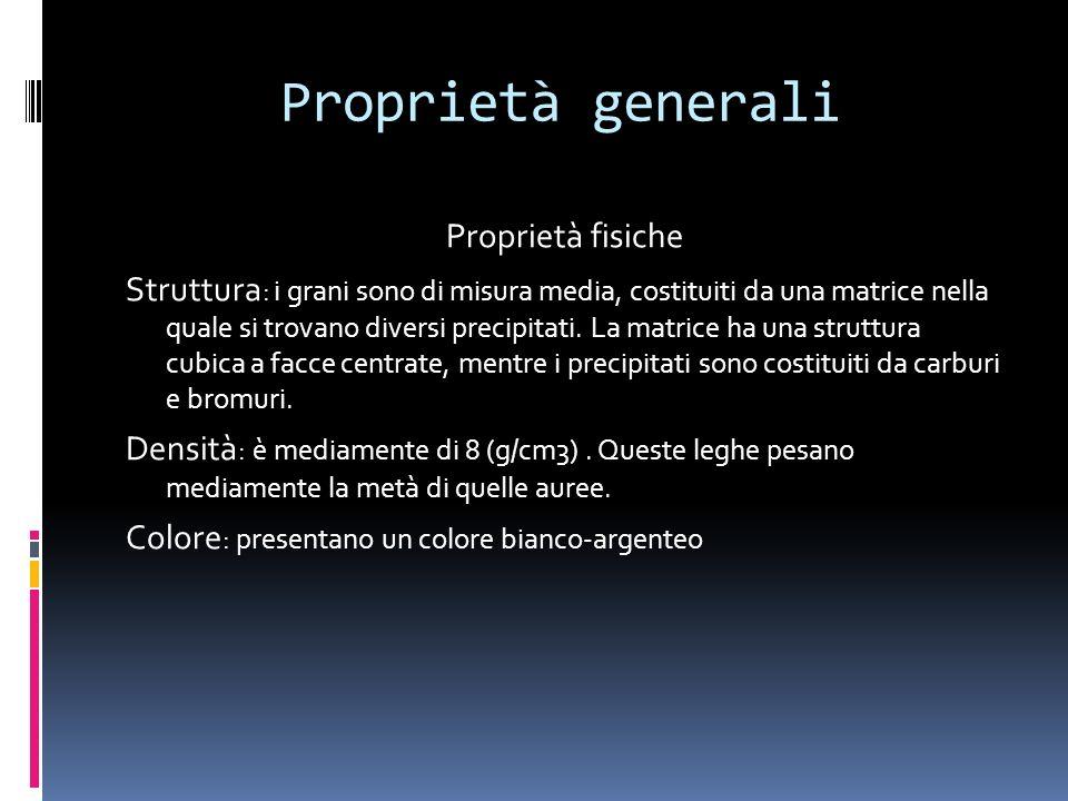 Proprietà generali