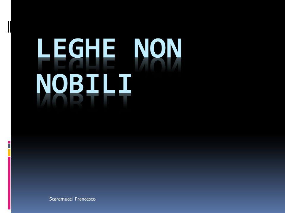 Leghe non nobili Scaramucci Francesco