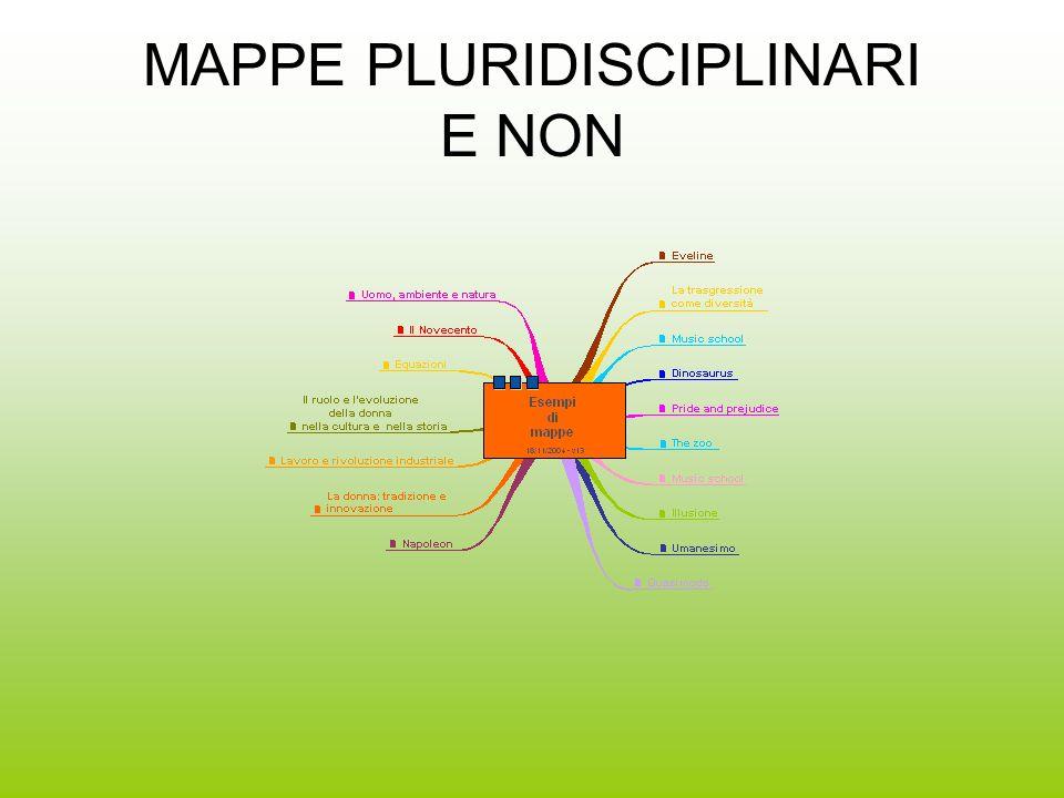 MAPPE PLURIDISCIPLINARI E NON