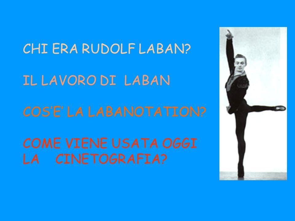 CHI ERA RUDOLF LABAN. IL LAVORO DI LABAN COS'E' LA LABANOTATION